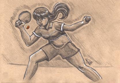 Ping Pong Girl 01