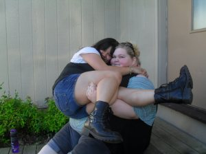 Darien and Joslyn. Sisters 4 life.