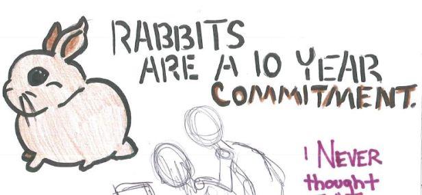 A bunny sticker I plan to make