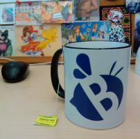 Studio B logo on the final product.