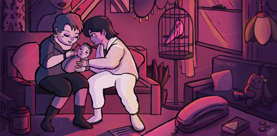 family-illustration-conceptart-mnartist-thejollyjawbreaker